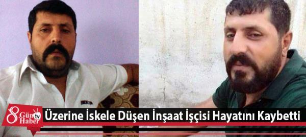 Üzerine iskele düşen inşaat işçisi hayatını kaybetti ile ilgili görsel sonucu