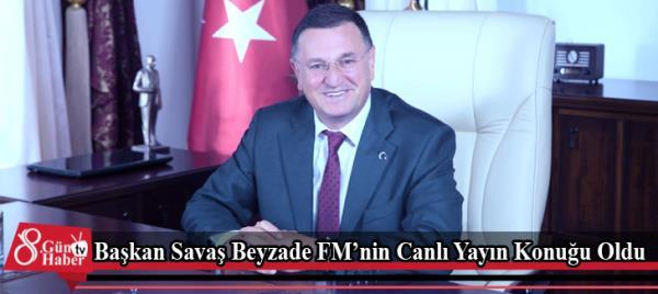 6bcbcfc44fb Başkan Savaş Beyzade FM'nin Canlı Yayın Konuğu Oldu   Gündem   HATAY