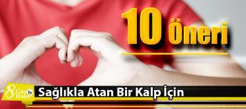 Kalbinizin sağlıkla atmaya devam etmesi için 10 öneri ile ilgili görsel sonucu
