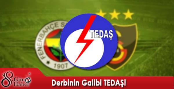 Derbinin Galibi TEDA�!
